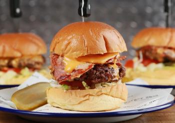 Shed burger trio