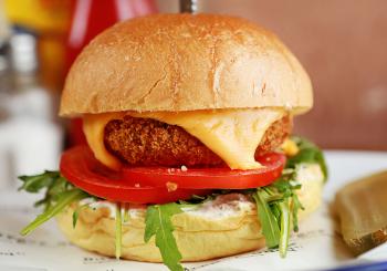 Shed veggie burger