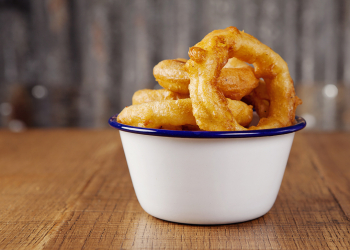 Shed onion rings